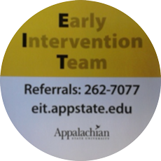 Early Intervention Team Referrals: 262-7077 eit.appstate.edu Appalachian State University